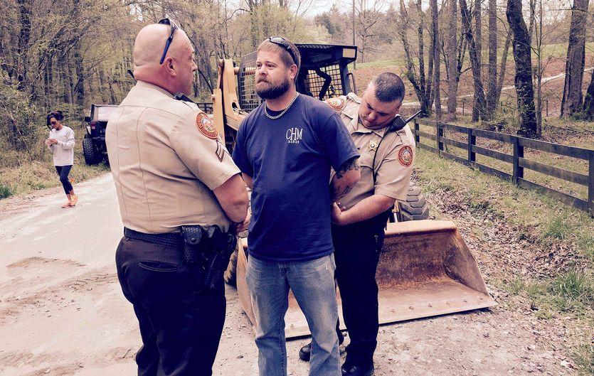 арест на мосту