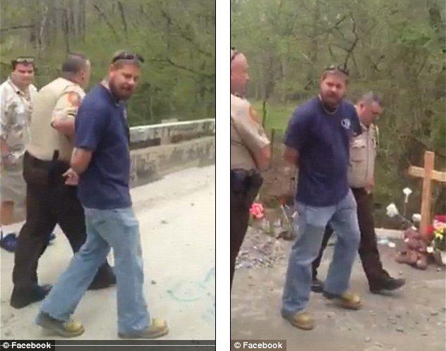 арестован на мосту