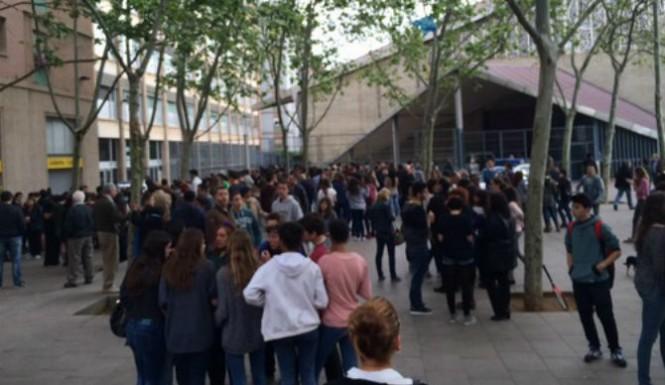 ученики в Испании