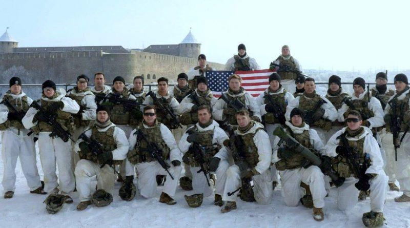 американцы на границе России